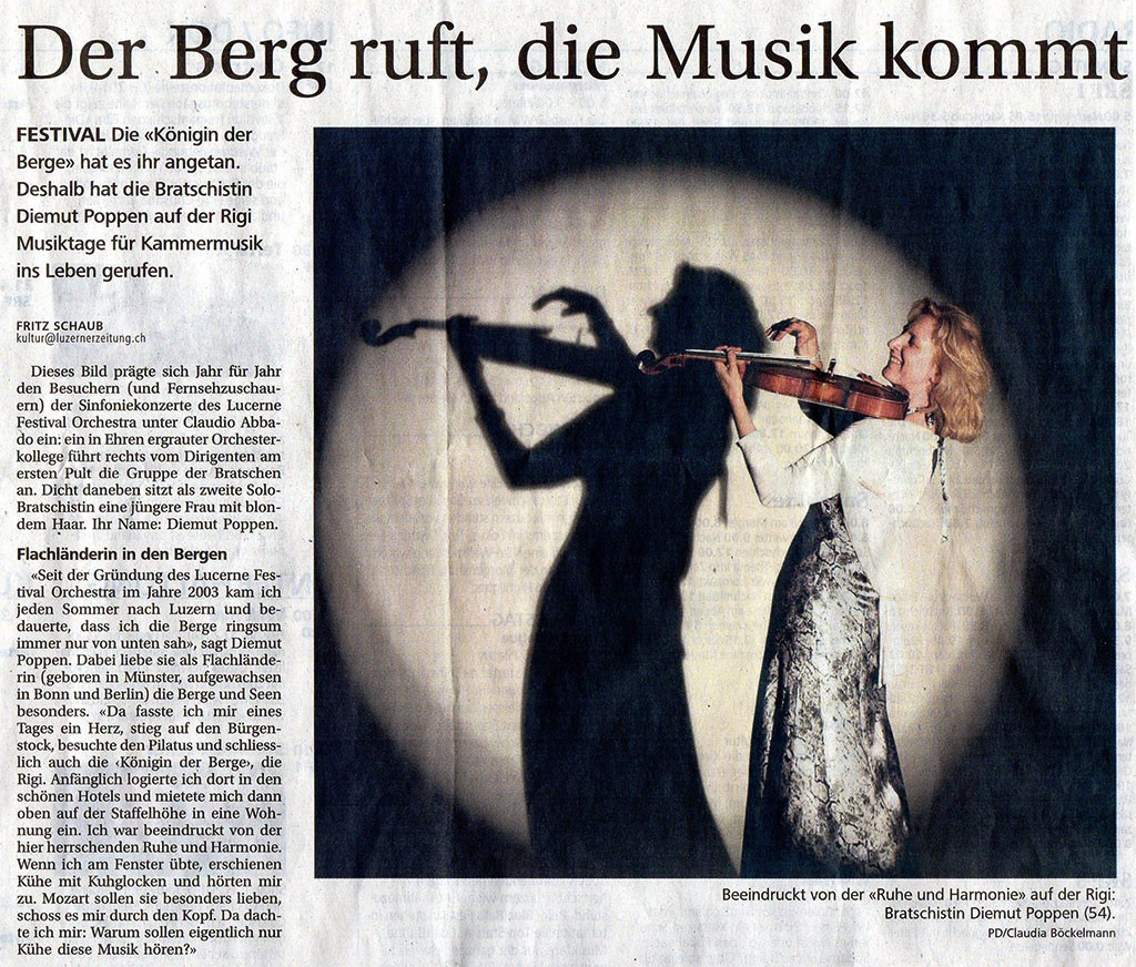 Rigi Musiktage Article